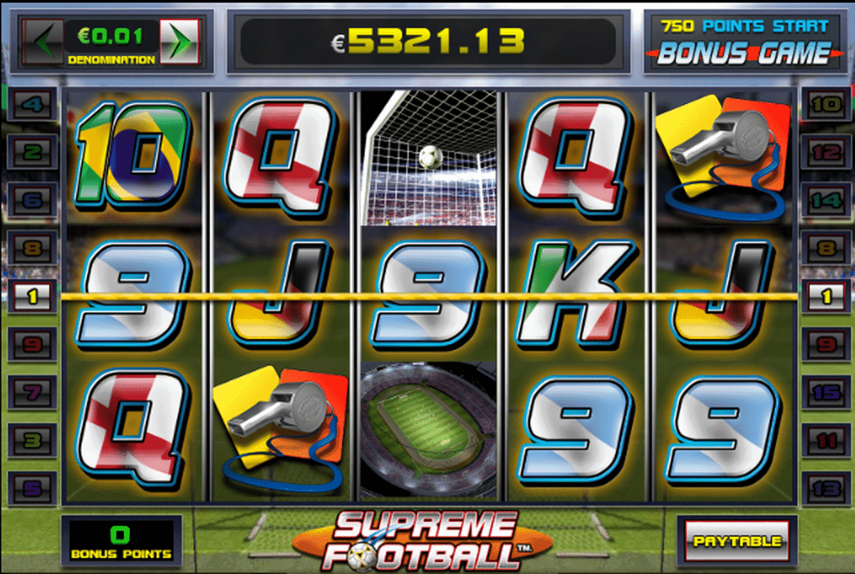 Supreme Football IGT Spielautomat