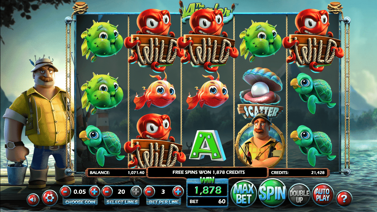 The Angler BetSoft Gaming Spielautomat