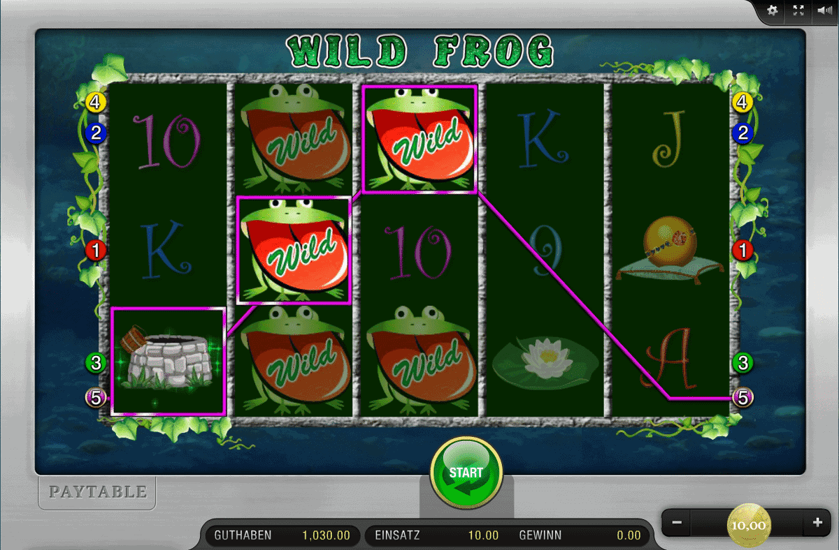 Wild Frog Merkur Spielautomat