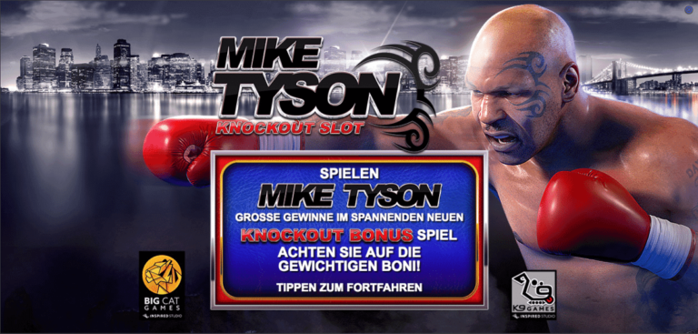 Mike Tyson Knockout Slot von Inspired Games