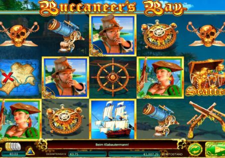 Buccaneers Bay Slot Side City Games