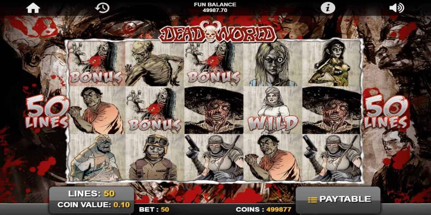 Dead World Slot 1x2 Gaming