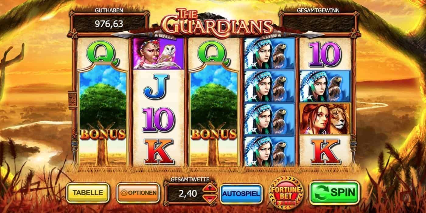 The Guardians Slot Inspired