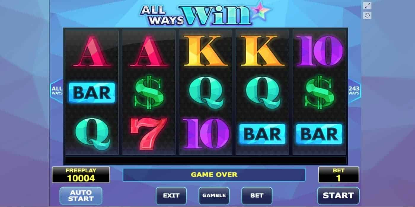All Ways Win Slot Amatic Industries