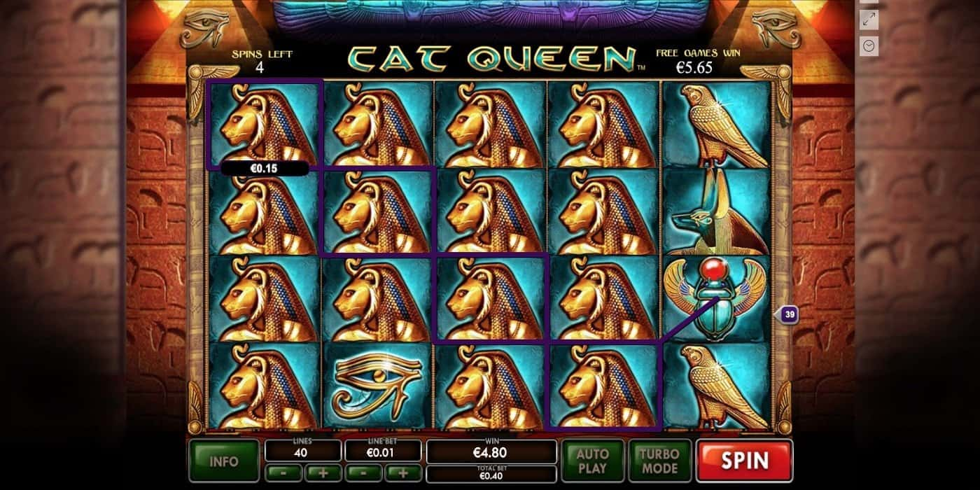 Cat Queen Slot Playtech