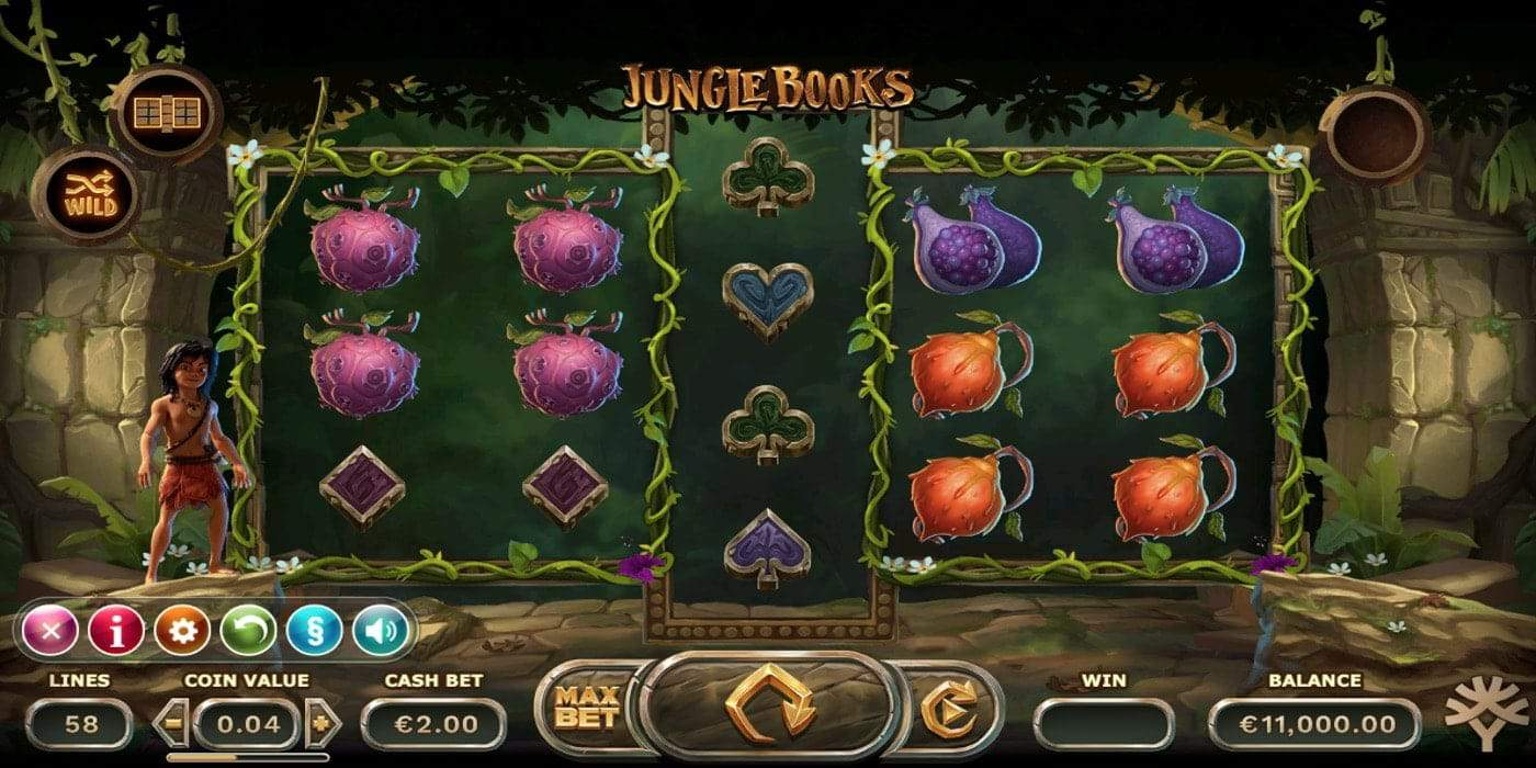 Jungle Books Slot Yggdrasil