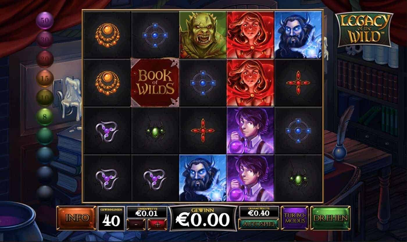 Spiele Legacy Of The Wild - Video Slots Online