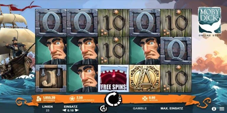 Moby Dick Slot von Microgaming
