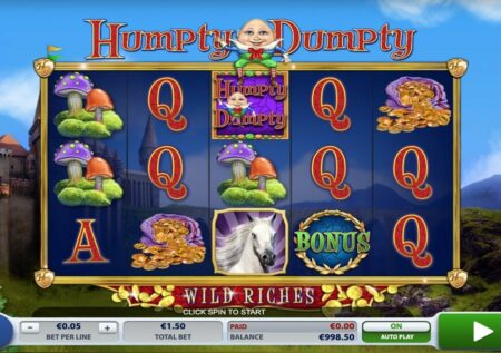 Humpty Dumpty Wild Riches Slot 2BY2 Gaming