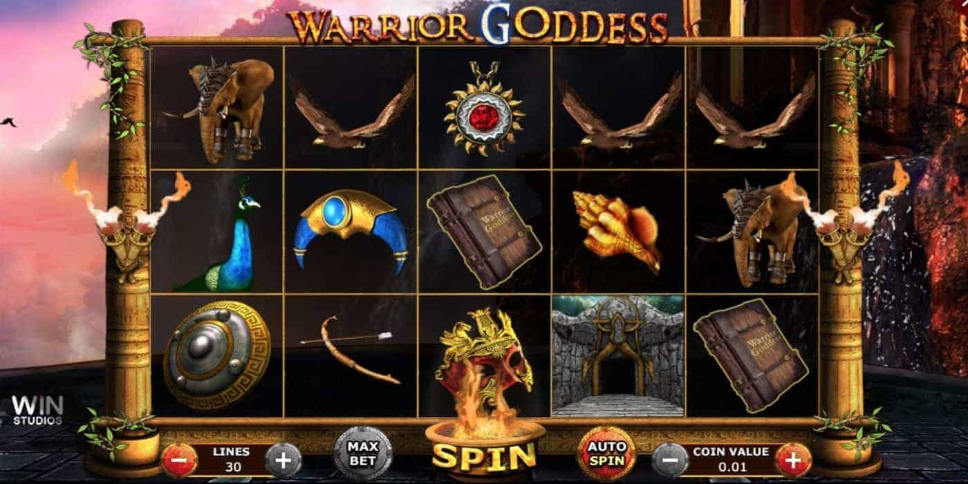 Warrior Goddess Slot Win Studios