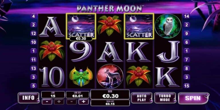 Panther Moon Slot von Playtech