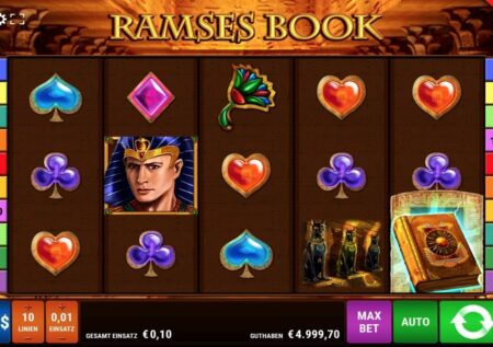 Ramses Book Online Casino & Slot Test