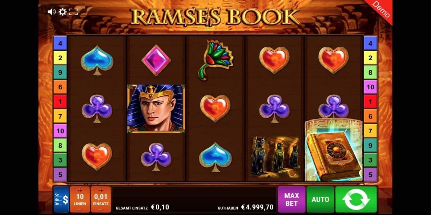 Ramses Book Slot Gamomat