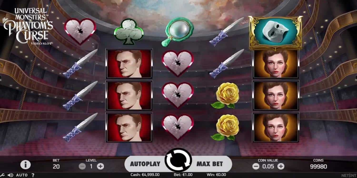 Universal Monsters: The Phantom's Curse Slot