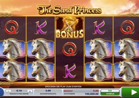 The Sand Princess 2BY2 Gaming