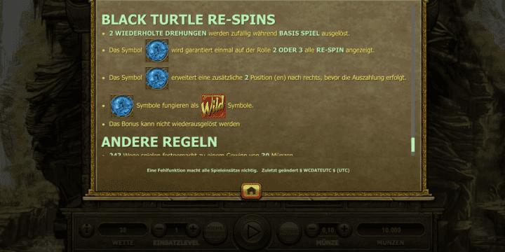 Four Divine Beasts Black Turtle Respins