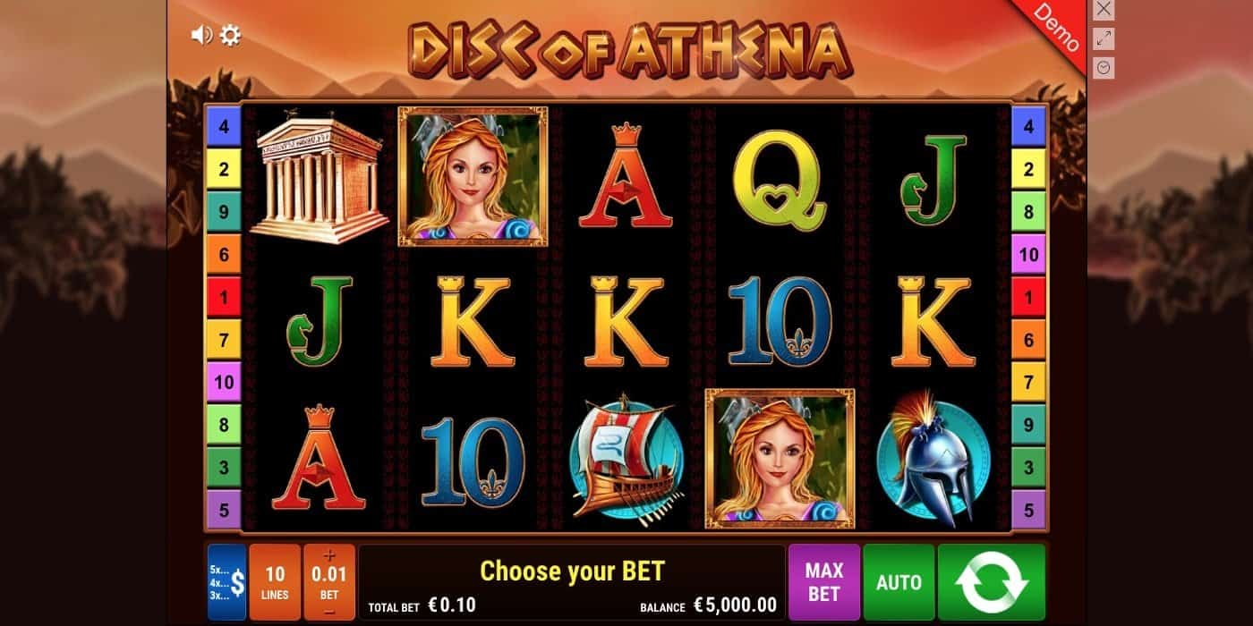 Disc of Athena Slot