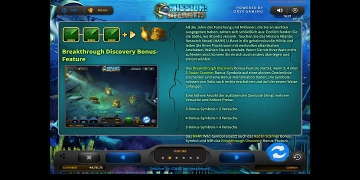 Breakthrough Discovery Feature Mission Atlantis