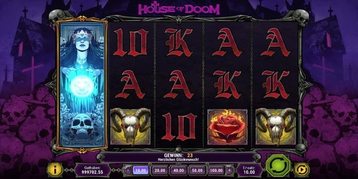 Video-Slot House of Doom