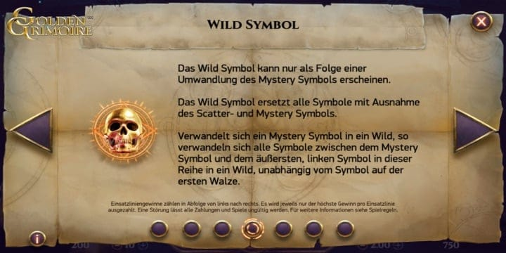 Wild-Symbol Golden Grimoire