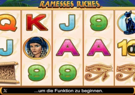 Ramesses Riches Spielautomat NextGen Gaming