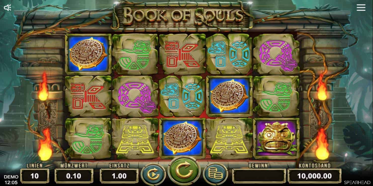Slot Book of Souls Spearhead