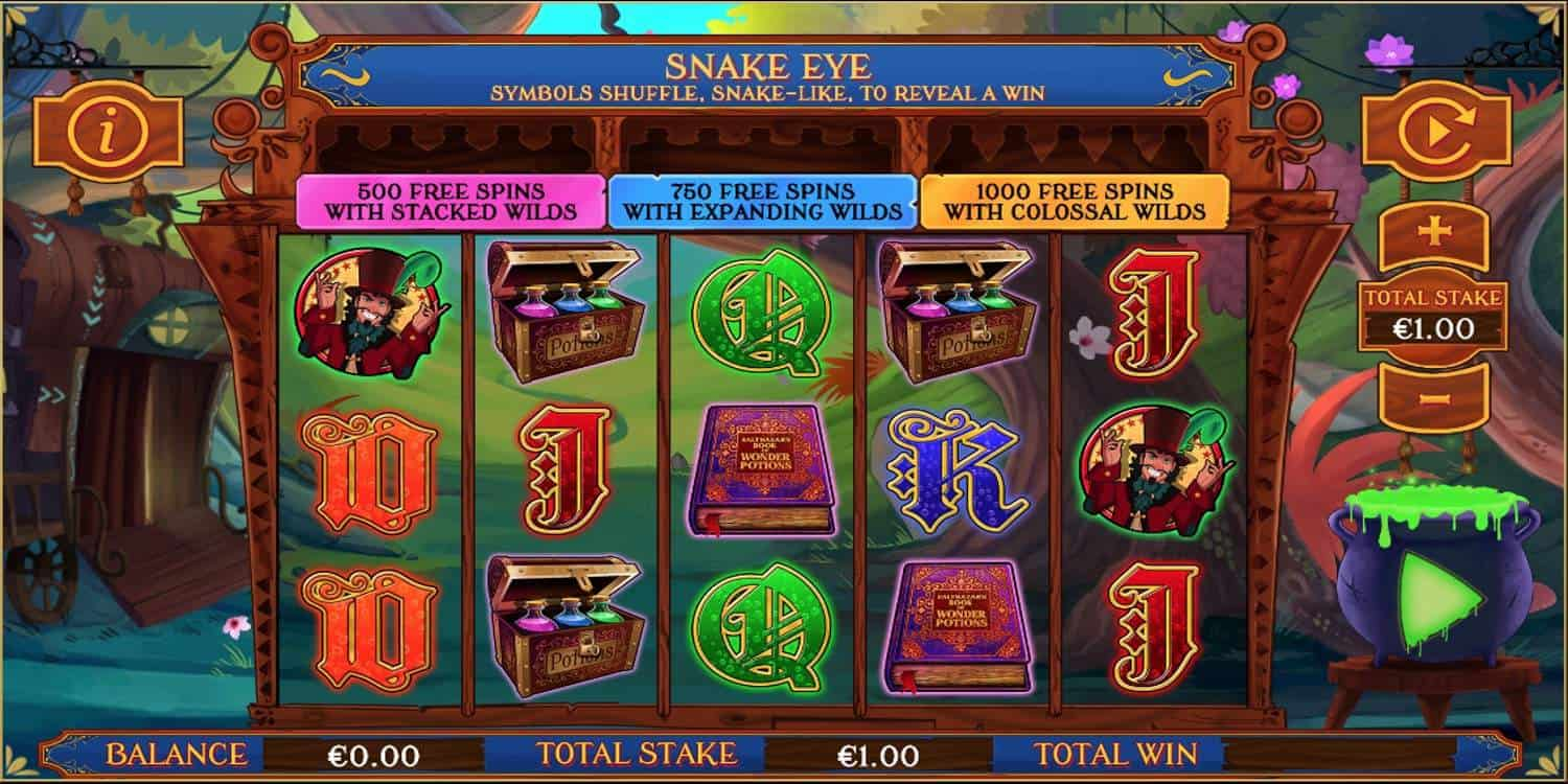 Balthazars Wild Emporium Slot Core Gaming