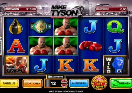 Mike Tyson Knockout Slot Games
