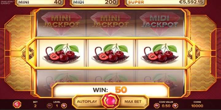 Slot Spinn Superpot Net Entertainment