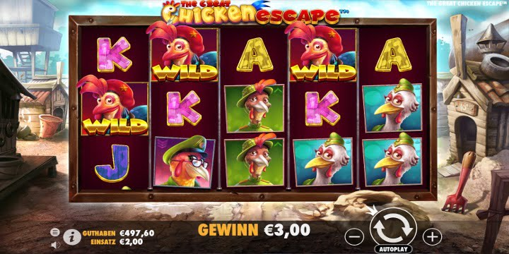 Slot The Creat Chicken Escape Pragmatic Play