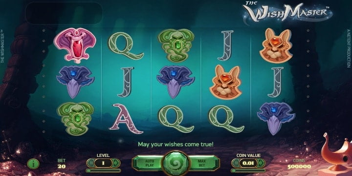 Slot The Wish Master Net Entertainment