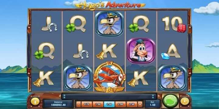 Slot Hugo's Adventure Play'n Go