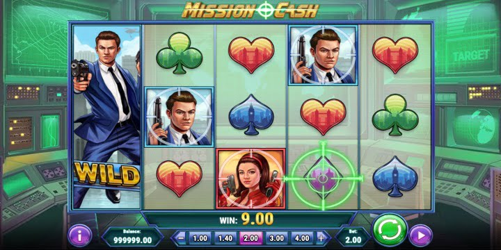 Slot Mission Cash Play'n Go