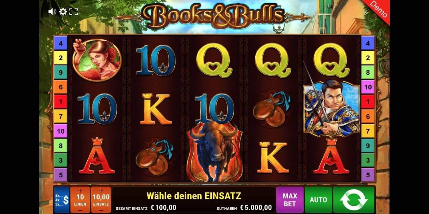Books and Bulls Slot