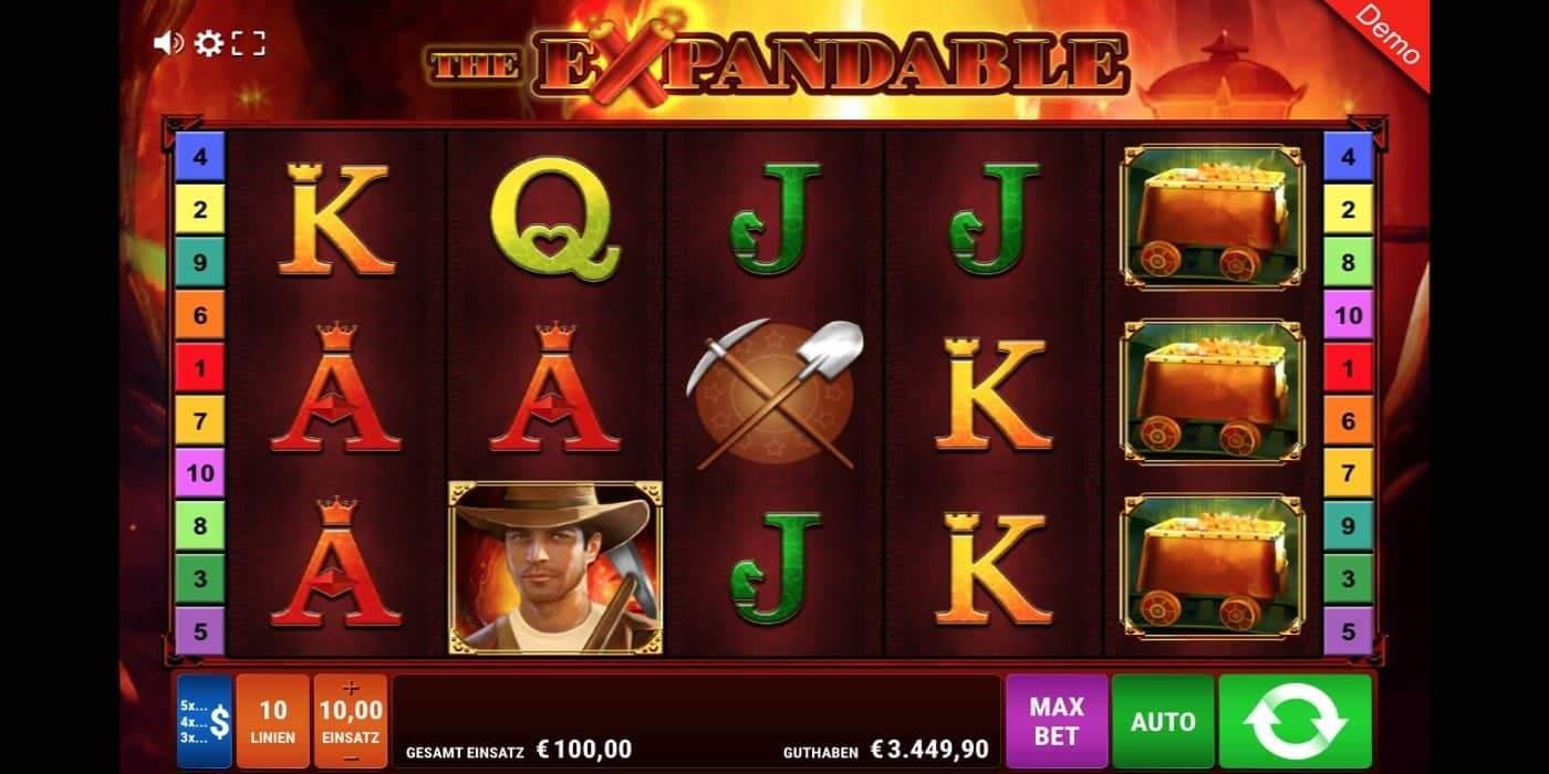 The Expandable Slot Gamomat