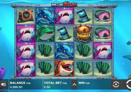 Razor Shark Casino Test
