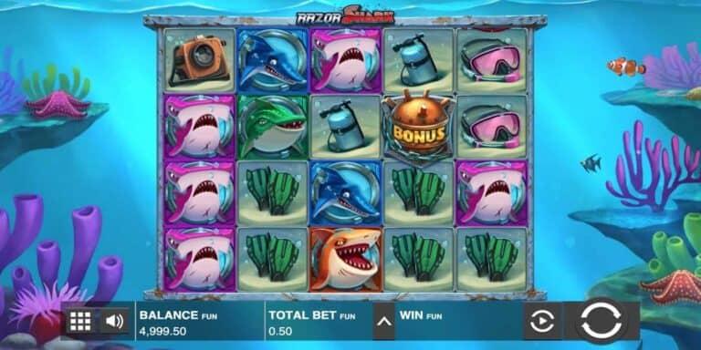Razor Shark Slot von Push Gaming