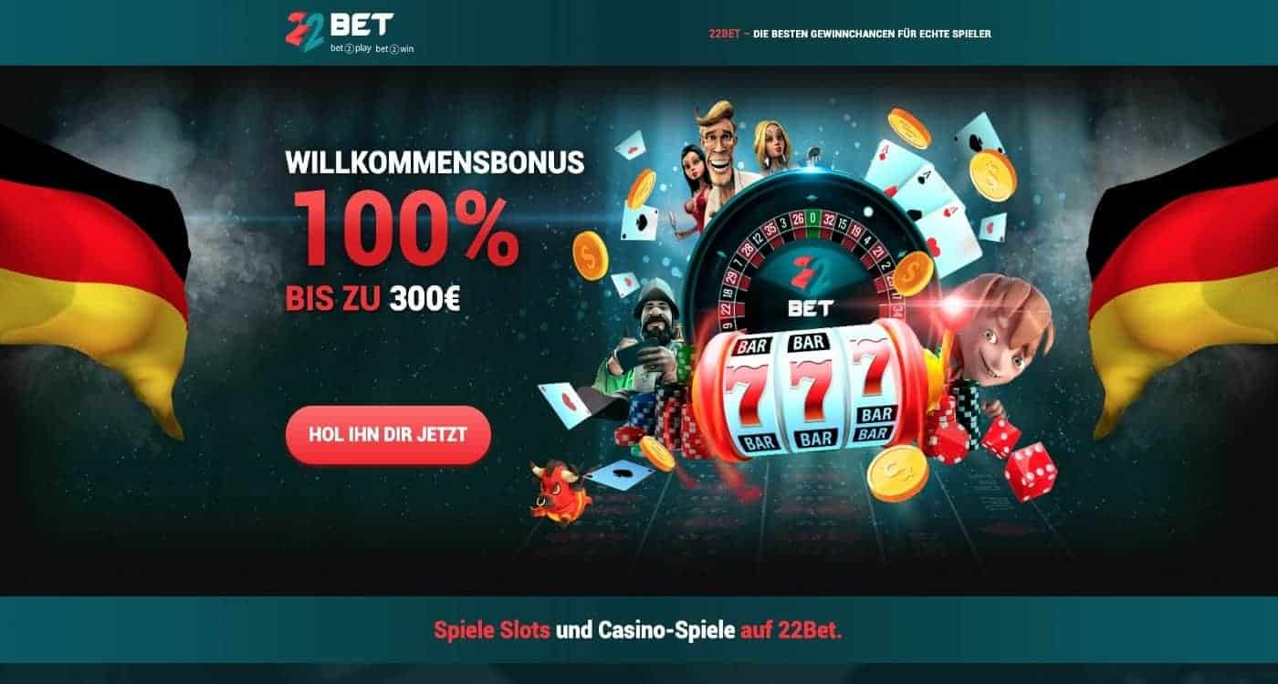 Bonus 22Bet Casino