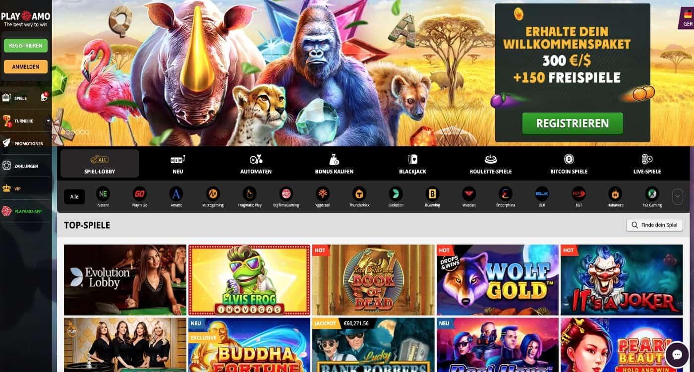 Bonus Playamo Casino