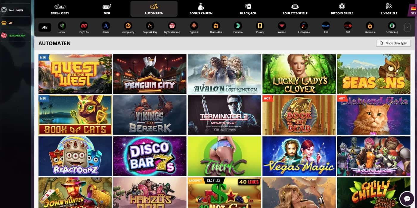 Slots Playamo Casino