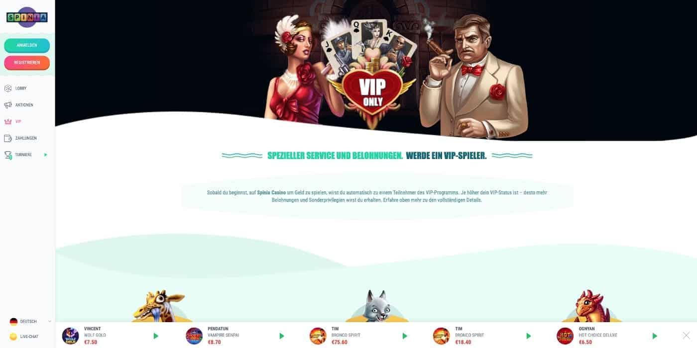 VIP Spinia Casino