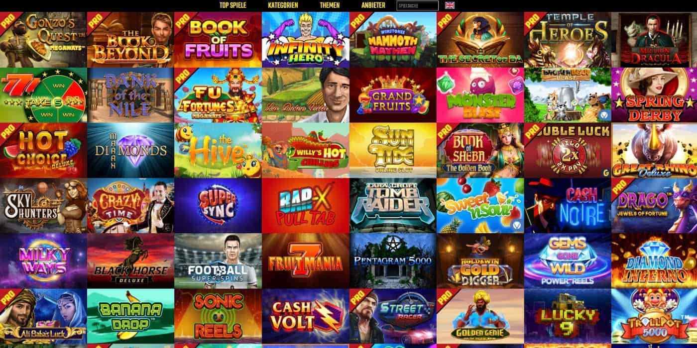 Alle Spiele BoomBang Casino