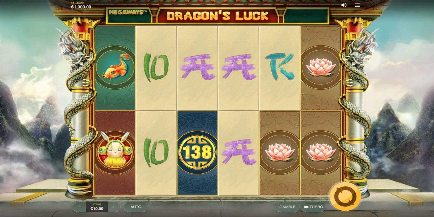 Dragon's Luck Megaways Slot Red Tiger