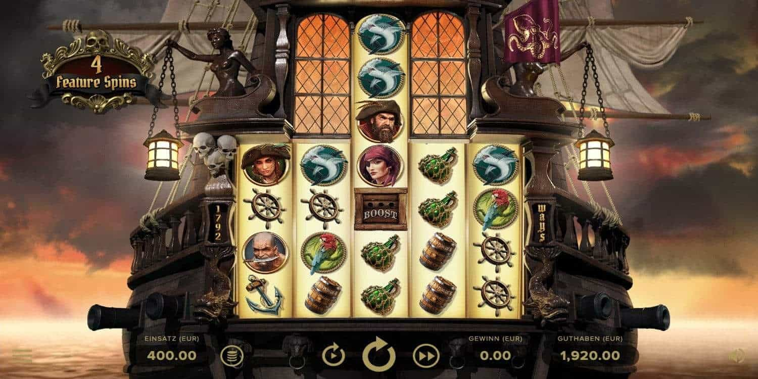 Rage of the Seas Slot Net Entertainment