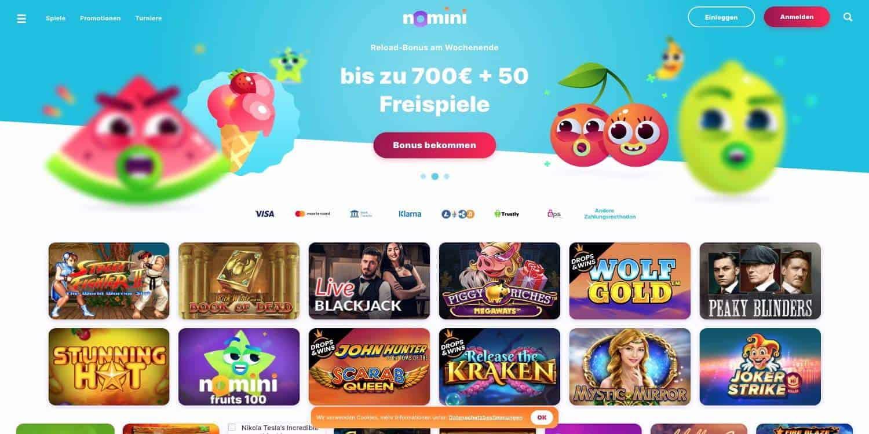 Bonus Nomini Casino