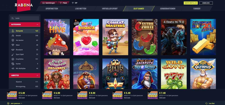 Slots Rabona Casino