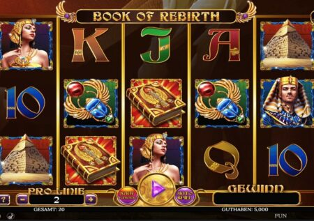 Book of Rebirth Slot Spinomenal
