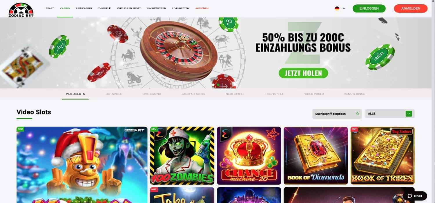 Home Zodiac Bet Casino