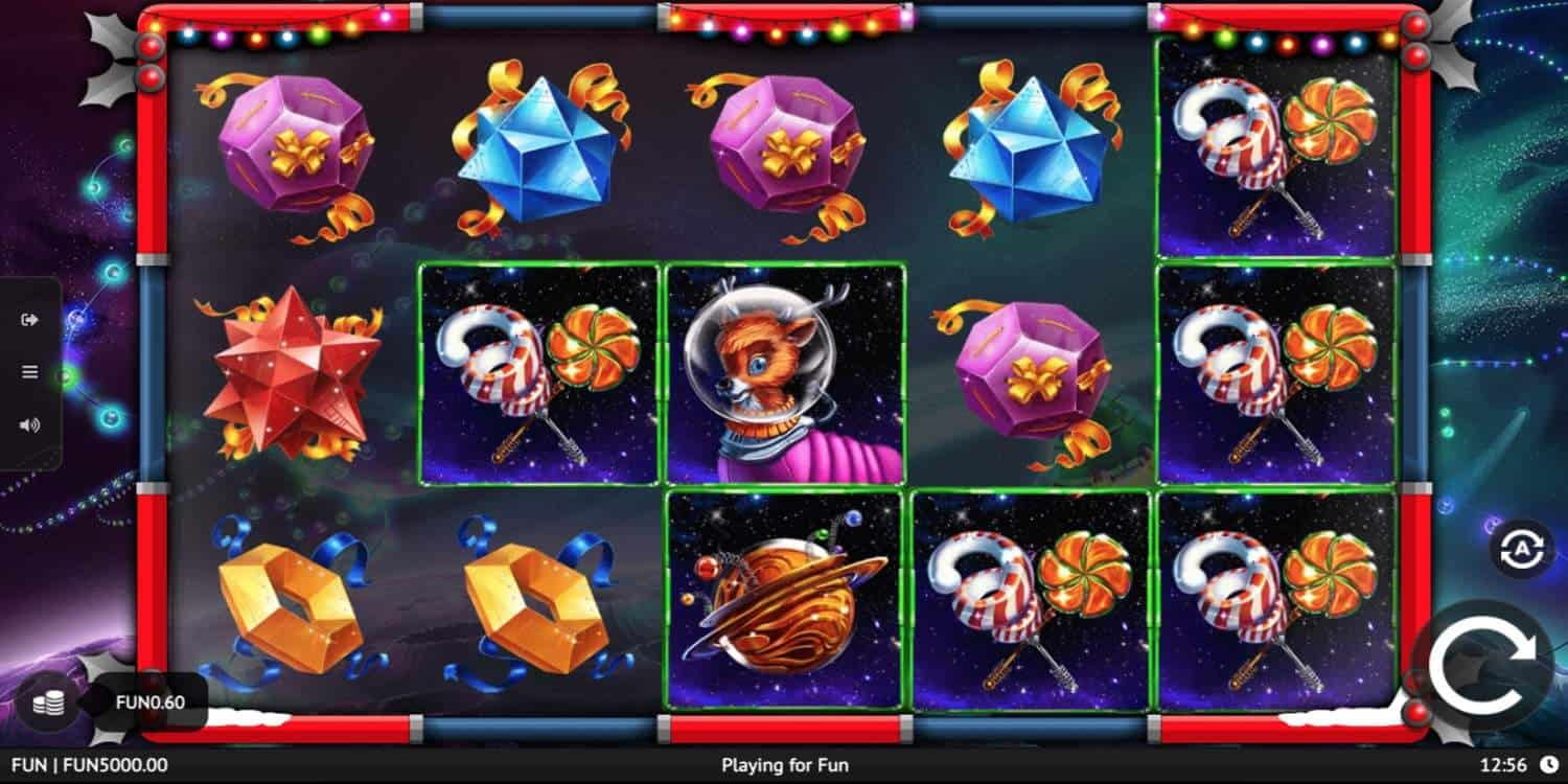 Space Christmas Slot 1x2 Gaming
