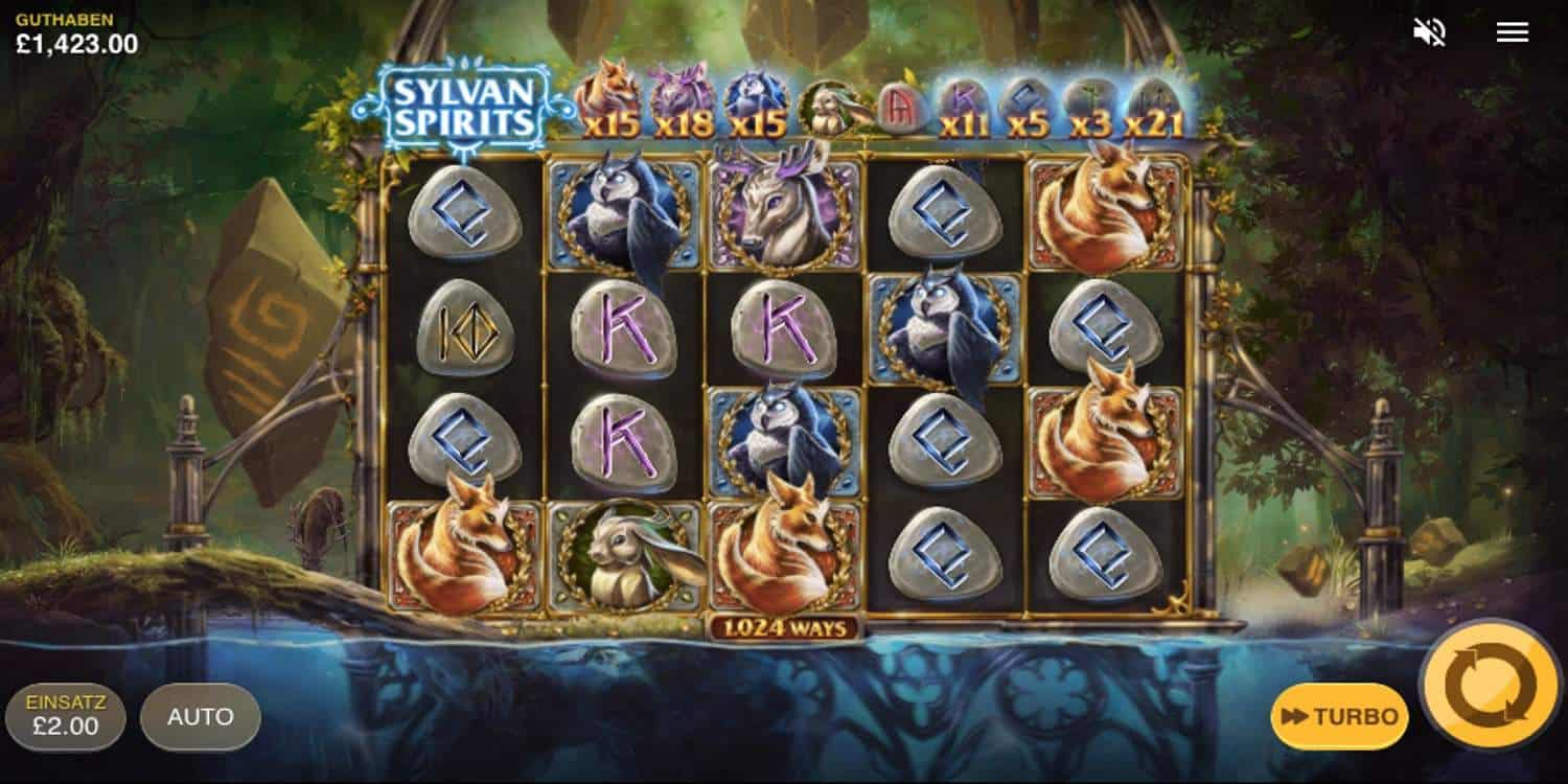 Sylvan Spirits Slot Red Tiger
